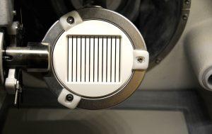 Frästechnische Prüfkörperherstellung für 4-Punkt-Biegeprüfung aus Zirkonoxid im (ungesintert)